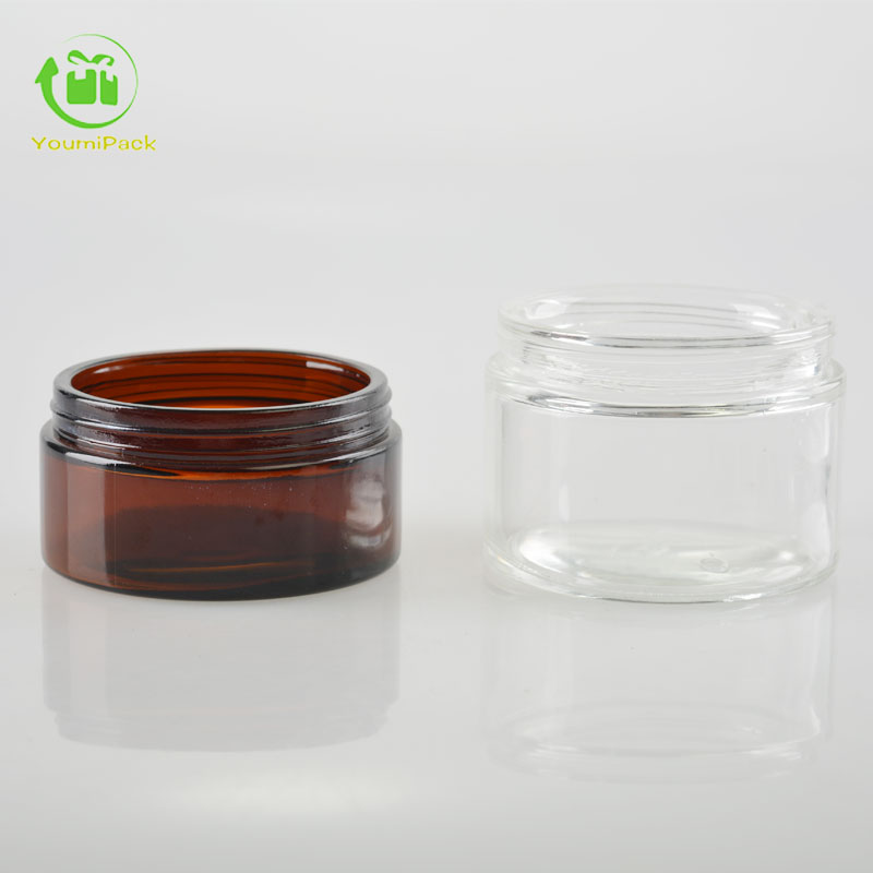 Big glass jars, glass containers