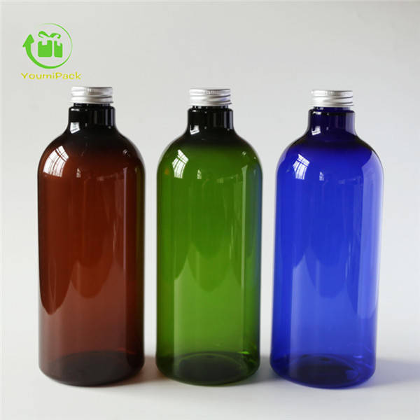 PET bottle with pumps line