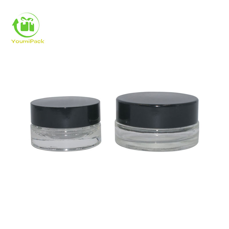 wide neck glass jars 10g 20g