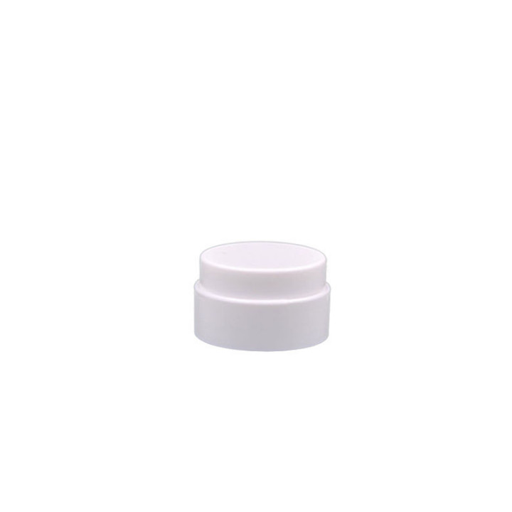 15g 30g 50g PLA biodegradable white cream jar title=