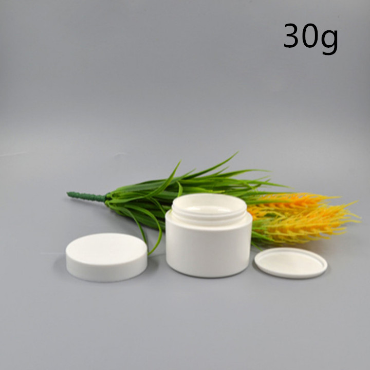 15g 30g 50g PLA biodegradable white cream jar