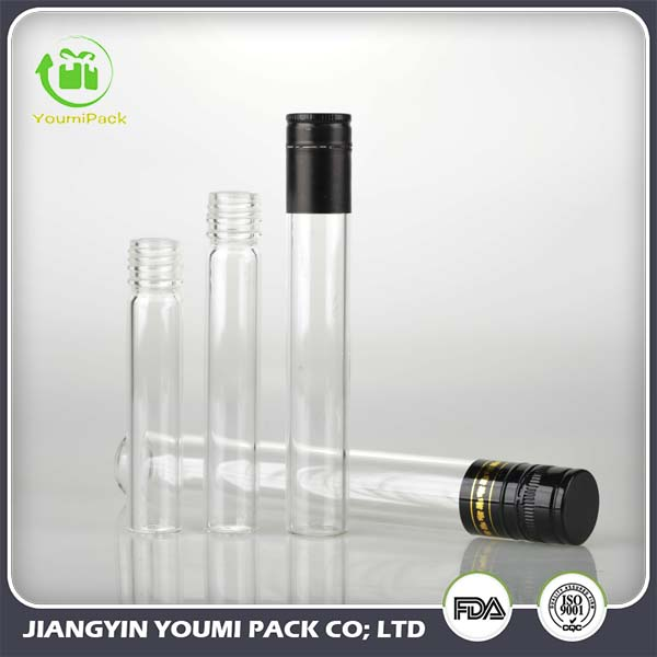 Term Of Service: Glass Test-tube For Wine Packaging With Aluminum Cap