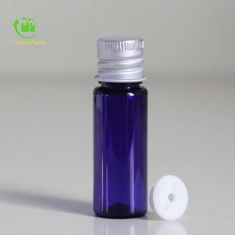 10ml PET bottle with aluminum lid